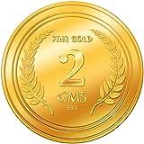 A Himanshu 2 grams 24k (995) Yellow Gold Precious Coin