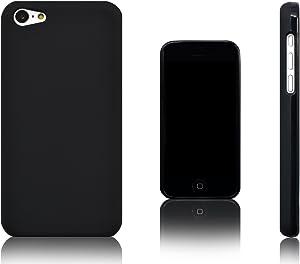 Xcessor Vapour Flexible TPU Gel Case for Apple iPhone 5C. Black (Black)