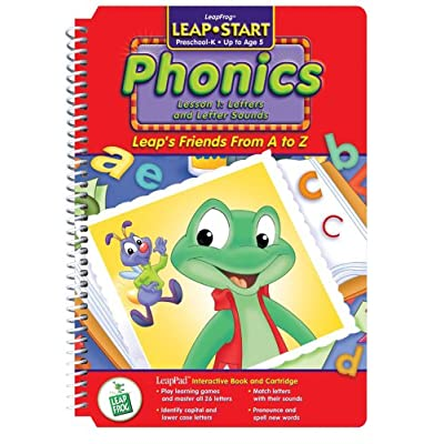 None LeapPad: LeapStart Phonics - Leap's Friends A to Z Interactive Book and Cartridge: Office Products