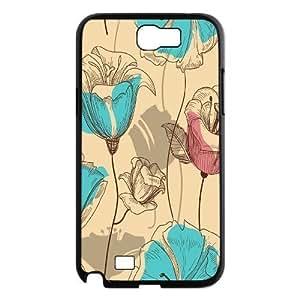 Vintage Flower ZLB543894 DIY Samsung Galaxy Note4 Case