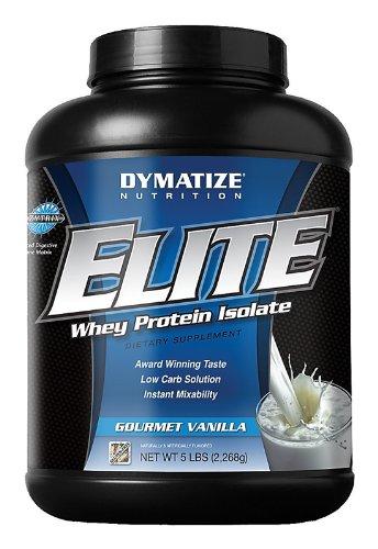 Dymatize Nutrition Elite Whey Protein Powder, Gourmet Vanilla, 5 Pound, Health Care Stuffs