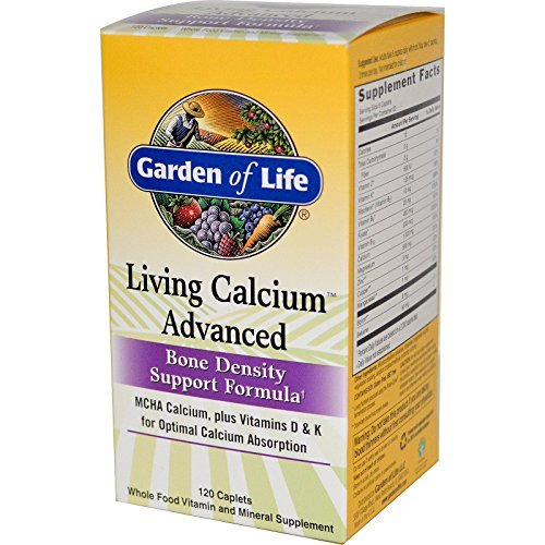 (Garden of Life Living Calcium Advanced 120 Caplets)