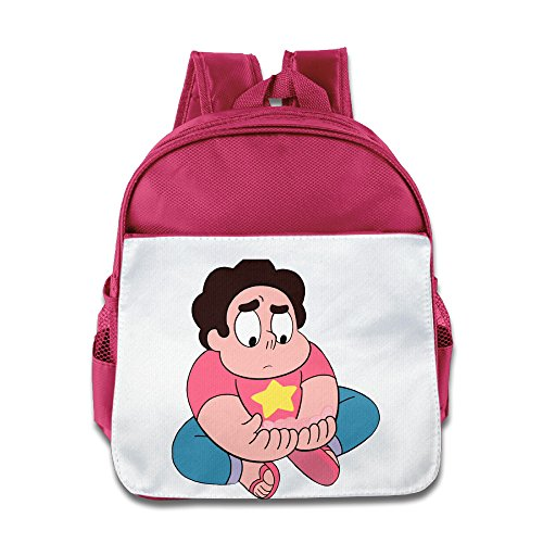 Price comparison product image XJBD Custom Cute Steven Universe Teenager School Backpack For 1-6 Years Old Pink
