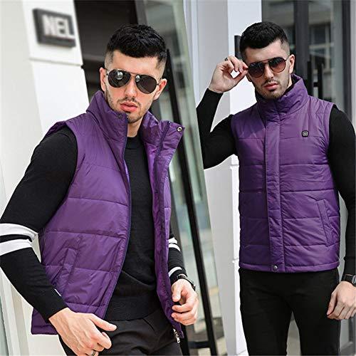 Chauffant Plein Pour blue Ski Purple En Usb Électrique Électrique Hommes Fz Léger Air kostum xl Pêche Equitation Au Veste Gilet A1wtgvExq