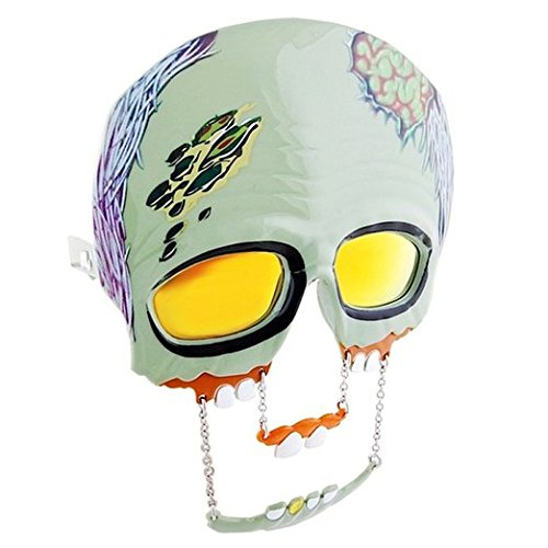 Green Zombie Reflective Lens - Disguise Sunglasses