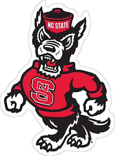 NC State Wolfpack Strutting Wolf Ultra Durable Decal (2