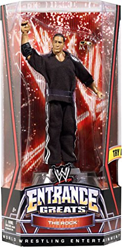 WWE Entrance Greats The Rock Collector