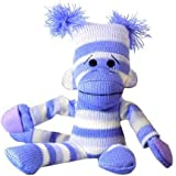 Slingshot Flying Sock Monkey with Screaming Sound (colors may vary)