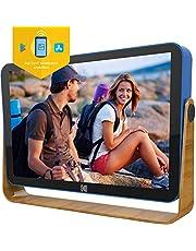 Kodak RWF-108 10-inch touchscreen, oplaadbaar digitaal fotoframe, wifi uitgerust met HD-fotoweergave en muziek/video-ondersteuning plus clock, kalender, weer- en locatie-updates