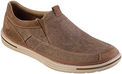 Skechers Relaxed Fit Landen Gomer Mens Loafers Cocoa 8