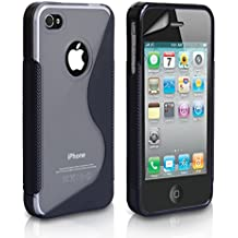 Case For The iPhone 4S 4 Siri S-Line Silicone Gel Cover From Yousave