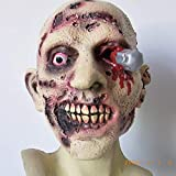Halloween Mask Movie Props Hideous Figures Pure Natural Latex Mask