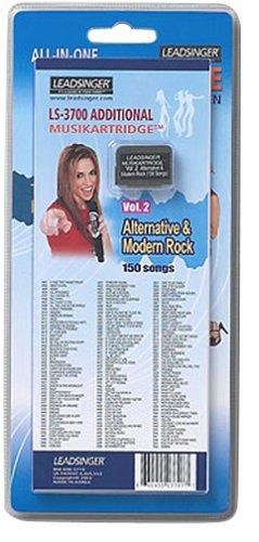 Leadsinger LS-3C02 Alternative Modern Rock Cartridge for LS-3000 - Leadsinger Karaoke System