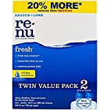 Renu Fresh All Day Moisture Multi-Purpose Eye Contact Lens Solution 12 Fluid Ounces (Pack of 2)