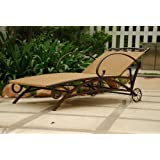 Valencia Outdoor Wicker Multi Position Chaise Lounge