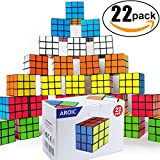Mini Cube, Puzzle Party Toy, Eco-Friendly Material with Vivid Colors,Party Favor School Supplies Puzzle Game Set for Boy Girl Kid Child, Magic Cube Goody Bag Filler Birthday Gift Giveaway