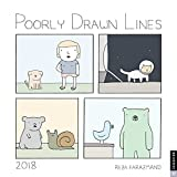 Poorly Drawn Lines 2018 Wall Calendar