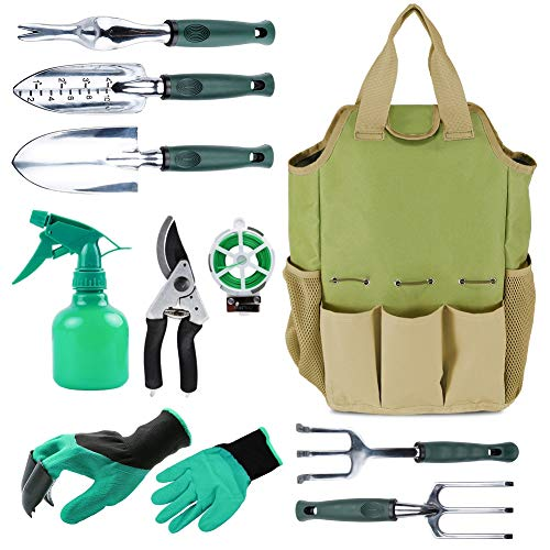 INNO STAGE Gardening Tools Set and Organizer Tote