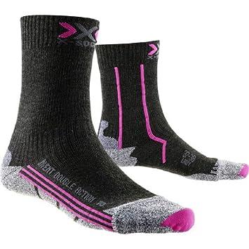 X-Socks - x100053 - Double Invent Mid Lady - Calcetines de Senderismo para Mujer: Amazon.es: Deportes y aire libre