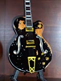 Mini Guitar RANCID TIM ARMSTRONG Worn Version Display