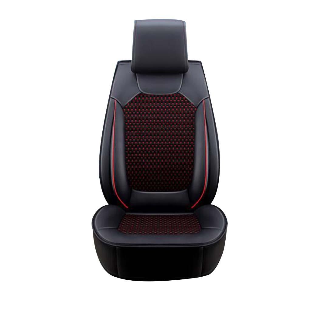 GOUGOU Car Seat / Four Seasons Universal Cushion / Summer Ice Silk Full Seat Car Cushion Cushion , A
