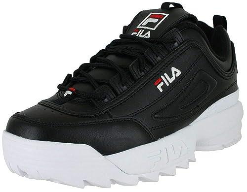 Fila Damen Disruptor II Premium Leather Synthetic Trainer