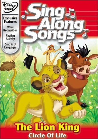 Disney's Sing Along Songs - The Lion King Circle of Life (The Lion King Dvd Spanish)