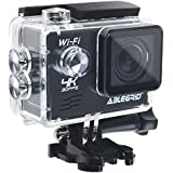 ABLEGRID® AG9000 30-meter Waterproof 16MP 2.0 inch WIFI Ultra-HD 4K Sports Action Camera with 170° wide Angle Lens Black