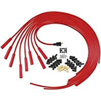 High Performance Universal 8mm Wires Set Noise Suppresion for Ford Bronco Econoline Explorer