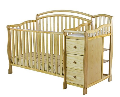 Dream On Me Hailee 5 In 1 Crib And Dressing Table Combo