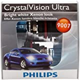 Philips 9007 CrystalVision ultra Upgrade Headlight Bulb (Pack of 2)