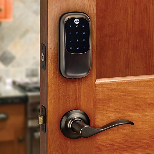 Yale Yrd240nr0bp Real Living Key Free Touchscreen Deadbolt