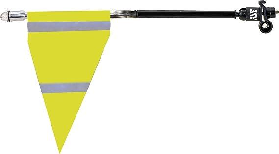 AWE® - Bandera de Seguridad Reflectante de Alta Visibilidad para Bicicleta: Amazon.es: Deportes y aire libre
