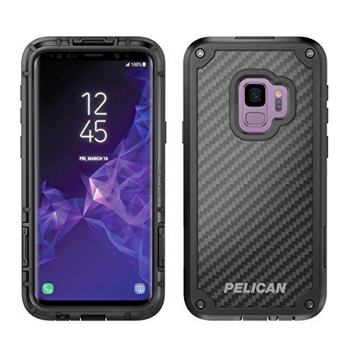 (Samsung Galaxy S9 Case - Pelican Shield Case for Samsung Galaxy S9 (Black/Black))