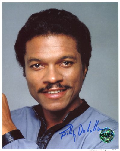 Billy Dee Williams Signed / Autographed Star Wars 8x10 glossy Photo as Lando Calrissian From the Empire Strikes Back. Includes Fanexpo Fanexpo Certificate of Authenticity and Proof. Entertainment Autograph Original.