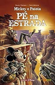 Mickey E Pateta: Pé Na Estrada: Capa Dura