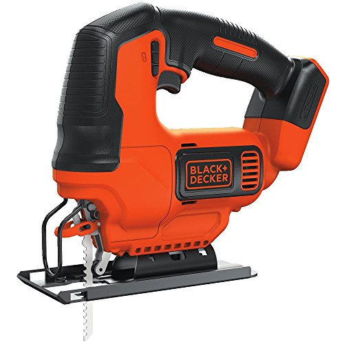 BLACK+DECKER BDCJS20B Lithium Jigsaw Bare Tool, 20V (Black & Decker Jigsaw)