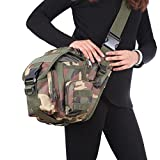 Cheap Ezyoutdoor Tactical Waist Pack Bag Military Fanny Packs Hip Belt Bag Pouch for Hiking Climbing Outdoor Bumbag (Camouflage)