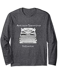 Antique Typewriter Collector Long Sleeve Shirt
