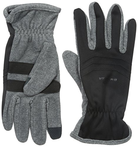 - Manzella Men's Hybrid Ultra Touch Tip Gloves, Charcoal, Large/X-Large