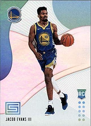 efb8b904b7f 2018-19 Status Basketball #121 Jacob Evans III Golden State Warriors  Rookies Level 1