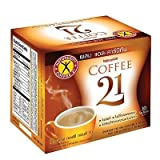 Naturegift Instant Coffee Mix 21 Plus L-carnitine Slimming Weight Loss Diet ,10 Sachets 0f box. Net weight 4.76 Oz