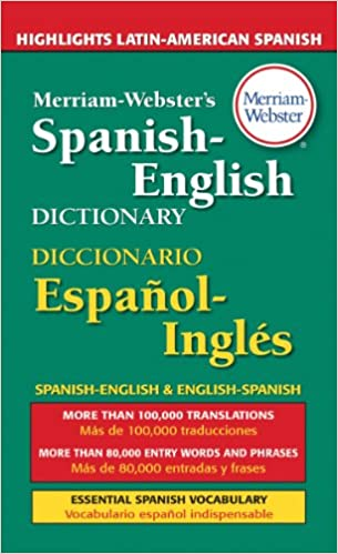 Amazoncom MerriamWebsters SpanishEnglish Dictionary