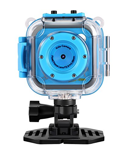 GAKOV Kids Camera, GACD WiFi 1280P 2MP Underwater Kids Camera 20m Waterproof Sports Camera for Kids