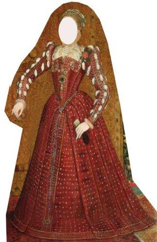 Tudor Woman Stand in - Classroom Lifesize Cardboard Cutout / Standee / Standup ()