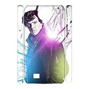 C-EUR Cell phone case Sherlock Hard 3D Case For Samsung Galaxy S4 i9500 by Maris's Diary