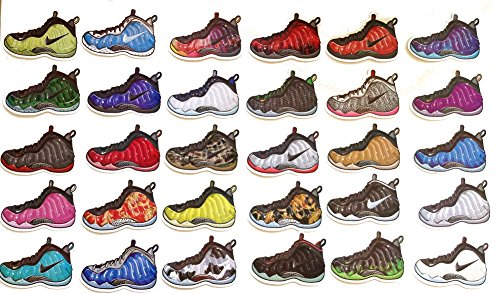 Air Foamposite Pro One Sneakers Shoes Decal Stickers Set of 30