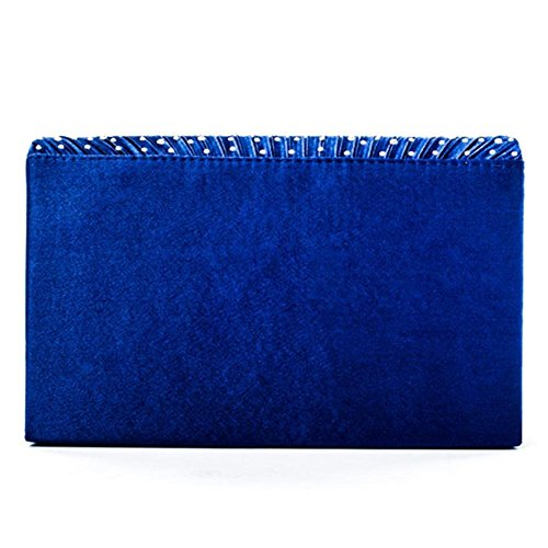 Clutch Evening Party ����ɫ Bag Frosted for Satin Rhinestone Handbag Wedding Women's Envelope Y4dOUSnwx