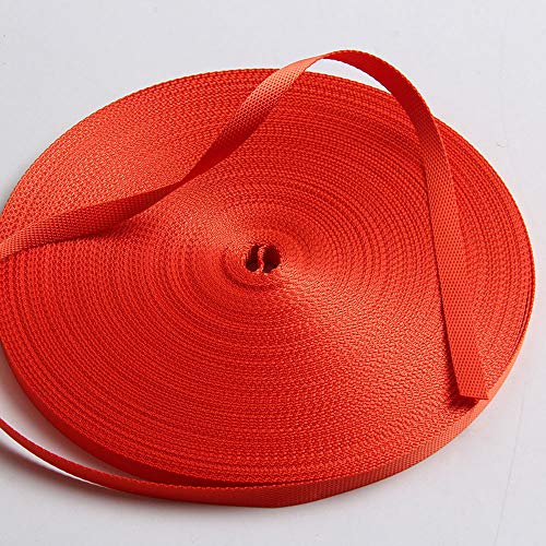 - Guangzhou Liman Webbing, Ribbon Orange Nylon Grosgrain Webbing Decoration Strap DIY Belt 10 mm Available in 50 Yards