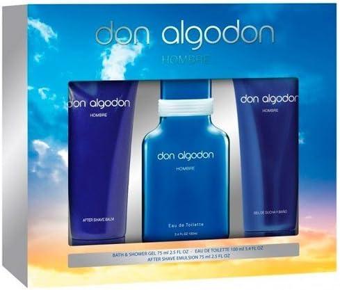 DON ALGODON COL MEN 100+GEL+AFT*E: Amazon.es: Belleza